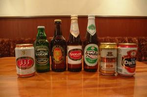 ベトナムビールも各種ご用意しています。